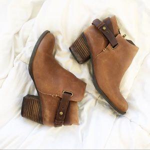 Aldo Chestnut Brown Ankle Boot